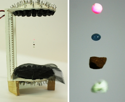 Image of acoustic levitation