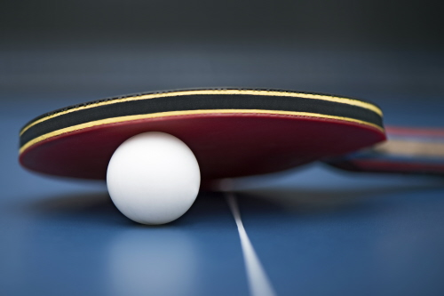 March: Comic Relief ping pong tournament | News | University of ...