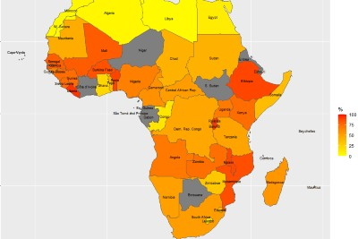 Hundreds of millions of Africans lack basic means of preventing SARS-CoV-2 transmission, finds global study