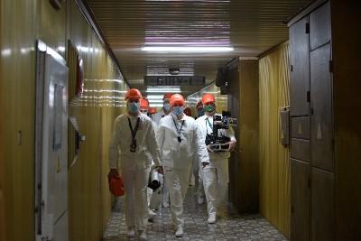 Bristol team gains unprecedented access to Chornobyl's Reactor 4