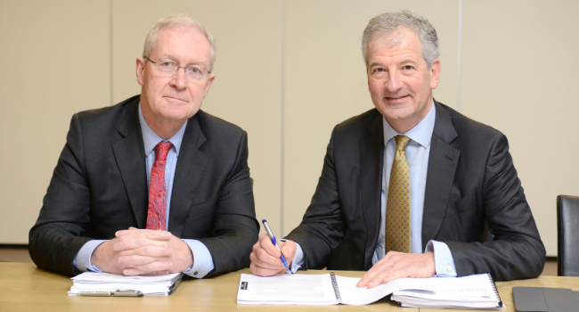 Group Health and Safety Policy signed by Chair and Pro-Vice Chancellor
