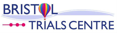 Bristol Trials Centre logo with balloon
